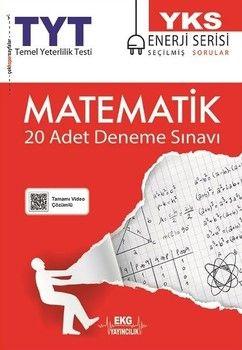 EKG Yayıncılık TYT Matematik 20 li Deneme Sınavı Enerji Serisi