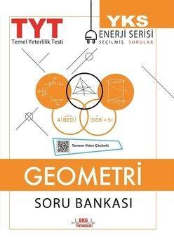 EKG Yayıncılık TYT Geometri Soru Bankası Enerji Serisi