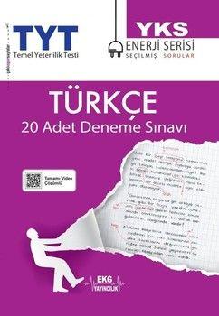 EKG Yayıncılık TYT Türkçe 20 li Deneme Sınavı Enerji Serisi
