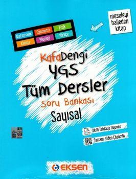 Eksen Yayınları Kafa Dengi YGS Sayısal Tüm Dersler Soru Bankası