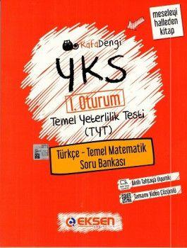 Eksen Yayınları YKS 1. Oturum TYT Türkçe Temel Matematik Soru Bankası