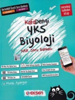 Eksen Yayınları YKS Biyoloji DerkeNar Özetli Soru Bankası