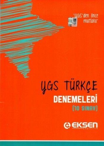 Eksen YGS Türkçe Denemeleri 10 Deneme
