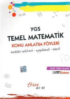 Eksen YGS Temel Matematik Konu Anlatım Föyleri