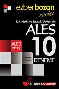 Ekspres Akademi 2017 ALES  Ezberbozan Sayılsal 10 Deneme