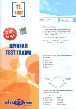 Ekstrem 11. Sınıf Biyoloji Çek Kopar Test Takımı