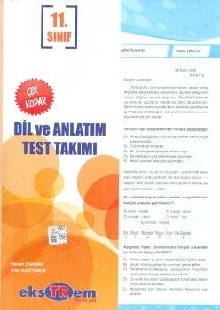 Ekstrem 11. Sınıf Dil ve Anlatım Çek Kopar Test Takımı