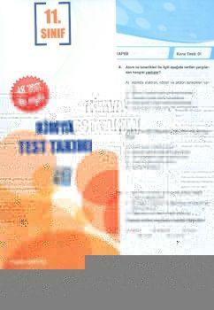 Ekstrem 11. Sınıf Kimya Çek Kopar Test Takımı
