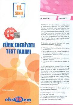 Ekstrem 11. Sınıf Türk Edebiyatı Çek Kopar Test Takımı