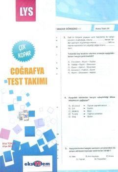 Ekstrem LYS Coğrafya Çek Kopar Test Takımı