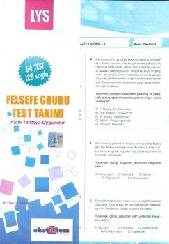 Ekstrem LYS Felsefe Grubu Çek Kopar Test Takımı