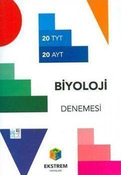 Ekstrem Yayınları TYT AYT Biyoloji 20li Denemesi