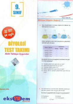 Ekstrem Yayınları 9. Sınıf Biyoloji Test Takımı