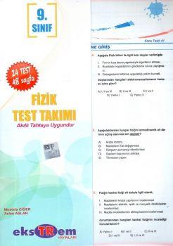 Ekstrem Yayınları 9. Sınıf Fizik Test Takımı