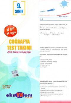 Ekstrem Yayınları 9. Sınıf Coğrafya Test Takımı