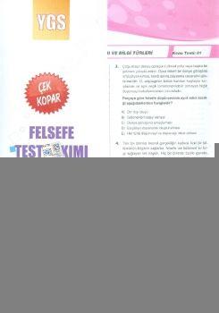 Ekstrem YGS Felsefe Çek Kopar Test Takımı