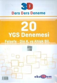 Ekstrem YGS Felsefe Din Kültürü ve Ahlak Bilgisi 20 Deneme