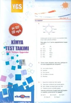 Ekstrem YGS Kimya Yaprak Test