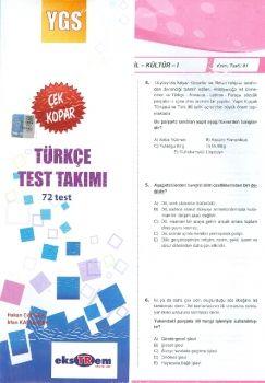 Ekstrem YGS Türkçe Çek Kopar Test Takımı