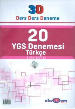 Ekstrem YGS Türkçe 20 Deneme