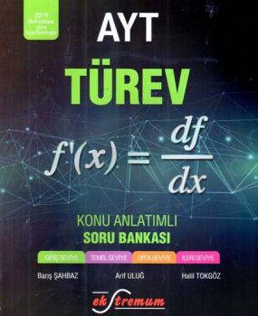 Ekstremum Yayınları AYT Türev Konu Anlatımlı Soru Bankası