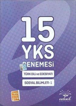 Endemik Yayınları YKS Türk Dili ve Edebiyatı Sosyal Bilimler 1 15 li Deneme