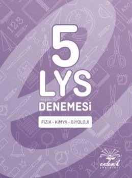 Endemik Yayınları LYS Fizik Kimya Biyoloji 5 Deneme