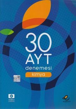 Endemik Yayınları AYT Kimya 30 Denemesi