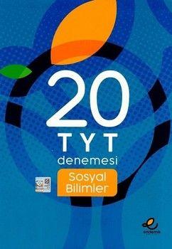Endemik Yayınları TYT Sosyal Bilimler 20 li Denemesi