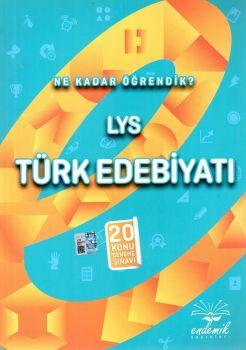 Endemik Yayınları LYS Türk Edebiyatı 20 Konu Deneme Sınavı