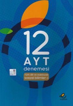 Endemik Yayınları AYT Türk Dili ve Edebiyatı Sosyal Bilimler 1 12 Denemesi