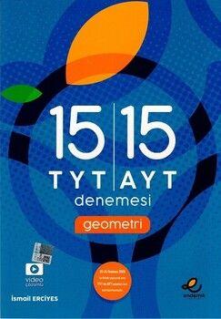 Endemik Yayınları TYT AYT Geometri 15 li Denemeleri
