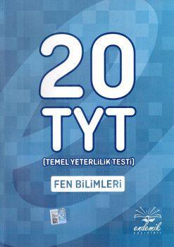 Endemik Yayınları YKS 1. Oturum TYT Fen Bilimleri 20 Deneme
