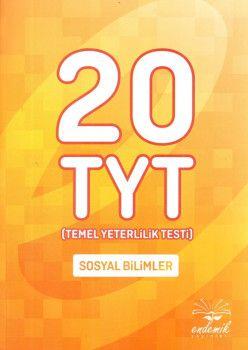 Endemik Yayınları YKS 1. Oturum TYT Sosyal Bilimler 20 Deneme