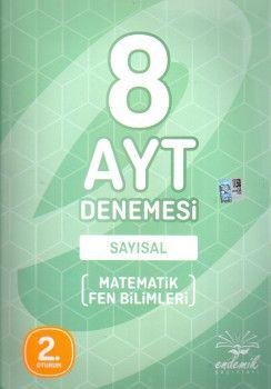 Endemik Yayınları YKS 2. Oturum AYT Sayısal 8 Deneme