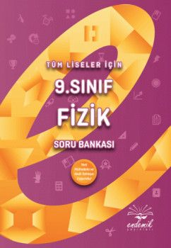 Endemik Yayınları 9. Sınıf Fizik Soru Bankası