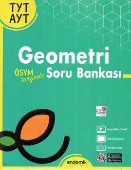 Endemik Yayınları TYT AYT Geometri Yeni Tarz Soru Bankası