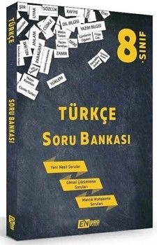 Enpro Yayınları 8. Sınıf Türkçe Soru Bankası