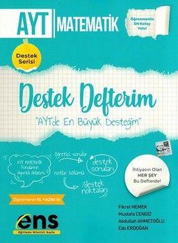 ENS Yayıncılık AYT Matematik Destek Defterim