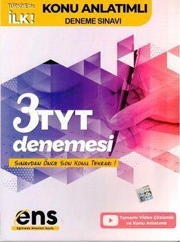 ENS Yayıncılık TYT Destek 3 lü Konu Anlatımlı Deneme