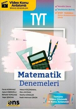 ENS Yayıncılık TYT Matematik 12 li Deneme