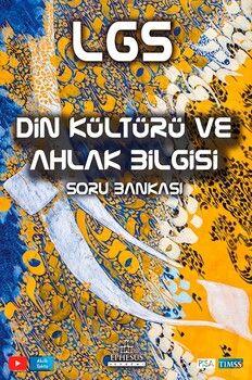 Ephesus Yayınları 8. Sınıf LGS Din Kültürü ve Ahlak Bilgisi Soru Bankası
