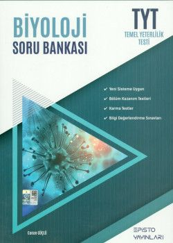 Episto Yayınları TYT Biyoloji Soru Bankası