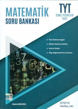 Episto Yayınları TYT Matematik Soru Bankası