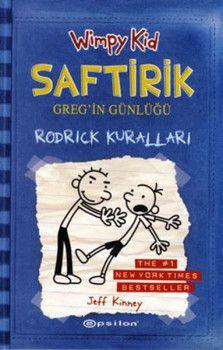 Epsilon Yayınevi Saftirik Gregin Günlüğü Rodrick Kuralları