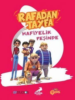 Erdem Çocuk Yayınları Rafadan Tayfa Hafiyelik Peşinde