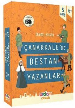 Erdem Çocuk Yayınları Çanakkale?de Destan Yazanlar 5 Kitap