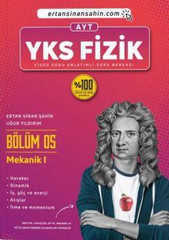 Ertan Sinan Şahin AYT Fizik Bölüm 5 Mekanik 1 Video Konu Anlatımlı Soru Bankası