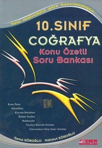 Esen 10. Sınıf  Coğrafya  Soru Bankası