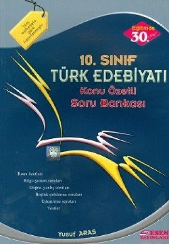 Esen 10. Sınıf  Edebiyat  Soru Bankası